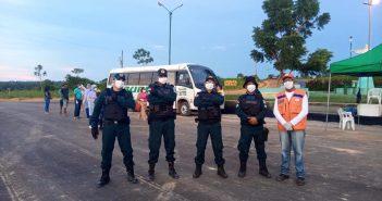 Prefeitura de Jacareacanga realiza barreira Sanitária na entrada da Cidade para o Enfrentamento ao Coronavirus