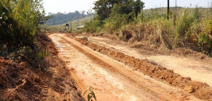 Prefeitura de Jacareacanga Realizou Recuperação da Vicinal do Cumbica e Jaburu, a Próxima Vicinal do Limão