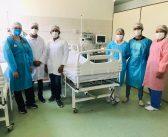 Ala de pacientes do covid -19 no hospital municipal não tem nenhum internado nesta quinta feira (08/04/2021)